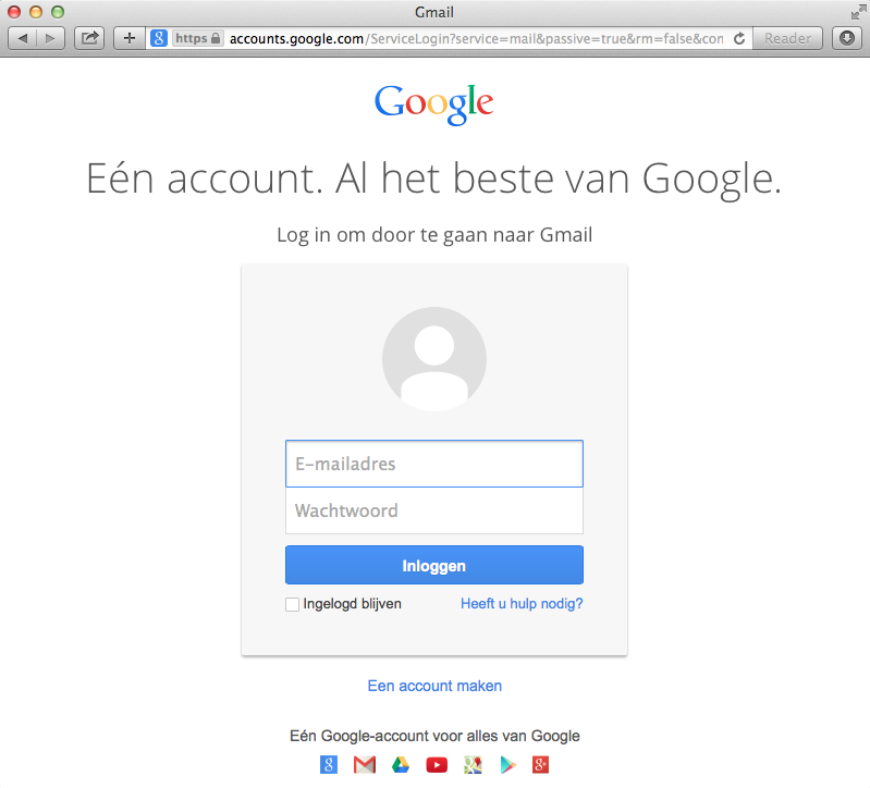 mailaccount opzetten in Gmail • Kennisbank van Revealit