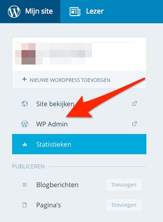 WP Admin in WordPress.com